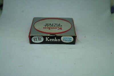 KenKo  OPTICAL  FILTER  52mm    CENTER   FOCUS