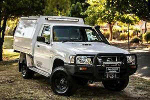 2012  Nissan Patrol GU 6 MY12  White 5 Speed Manual Cab Chassis Welshpool Canning Area Preview
