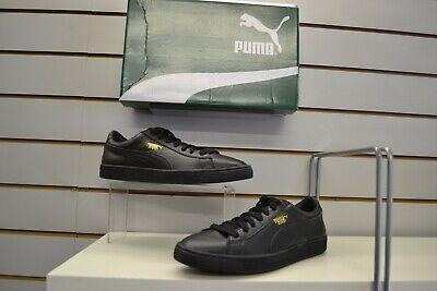 Puma Basket Classic LFS Black Retro Fashion Trainers UK 10 EU 44.5
