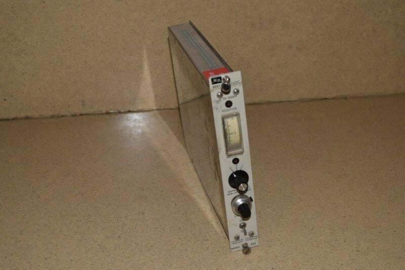 BERTAN ASSOC INC MODEL 342 POWER SUPPLY NIM BIN PLUG IN (TP210)