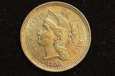 1865 3C NICKEL