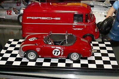 SCHUCO Porsche 356 A Carrera GT Speedster Bruce Jennnings 1/18 Diecast Car *READ