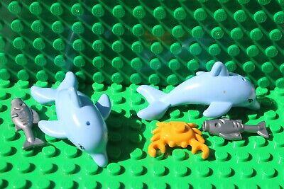 Lego Friends Animals Dolphins & sea creatures  x 5 job lot (Lot 163)