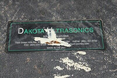 Dakota Mx-1 Ultrasonic Thickness Gauge Flaw Detector