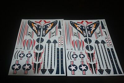 1/48 Tamiya Douglas F4D Skyray decal lot of (2) decals NEW
