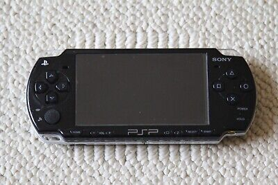 Sony PSP-2001 Slim Black Handheld System Bundle with Games - AS-IS PLEASE READ