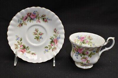 Moss Rose Cup (Royal Albert Moss Rose Montrose Shape Cup & Saucer)
