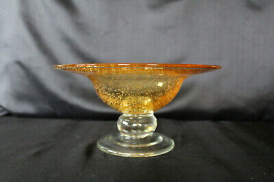 Square Bowl in Purple Opal mit gold