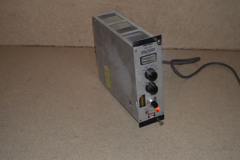 ORTEC MODEL 456 HIGH VOLTAGE POWER SUPPLY NIM BIN PLUG IN