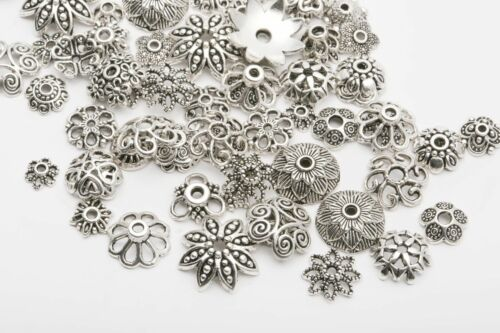 150pcs Mixed Tibet Silver Beads Spacer For Jewelry making Eu