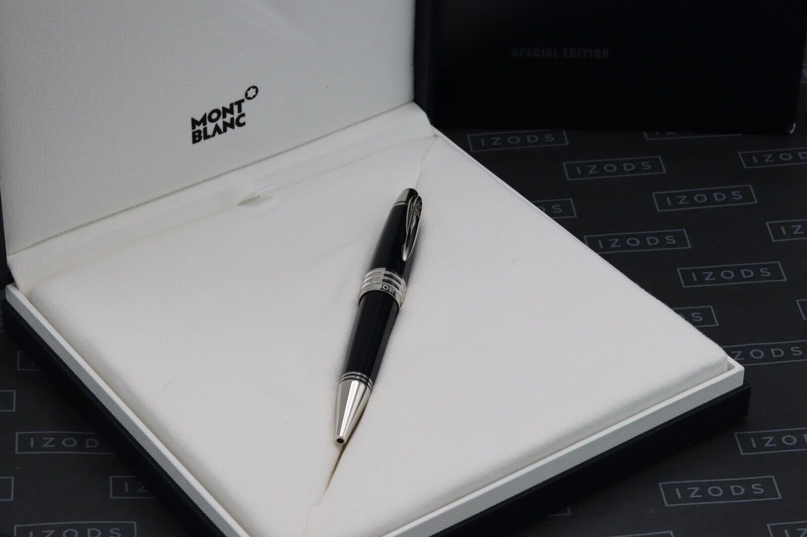 Montblanc Great Characters JFK Blue Special Edition Ballpoint Pen 6