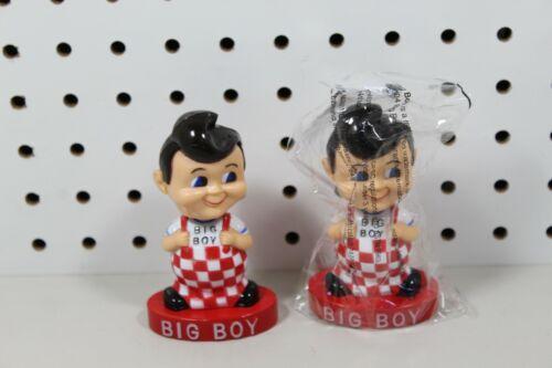 """(2) Nos 2004 BOBS BIG BOY DASHBOARD BOBBLE HEAD 1950 VINTAGE STYLE 4-1/4"""""""