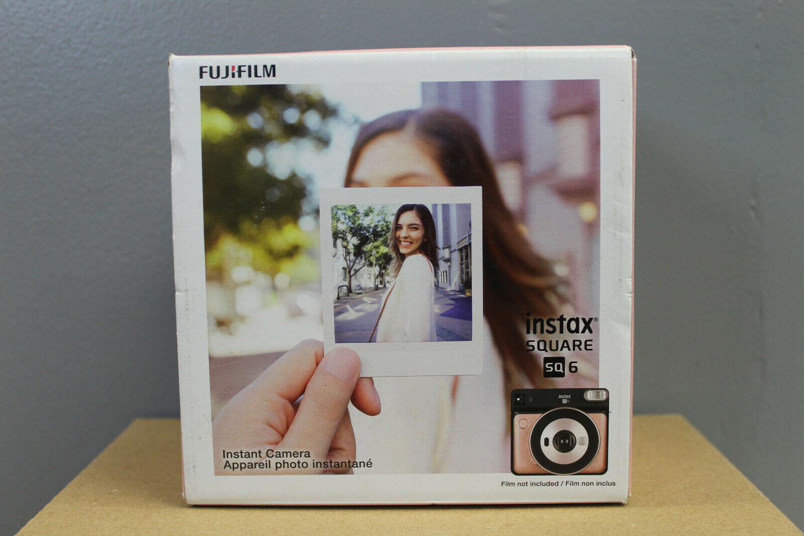 Fujifilm Instax Square SQ6 - Instant Film Camera - Blush Gol