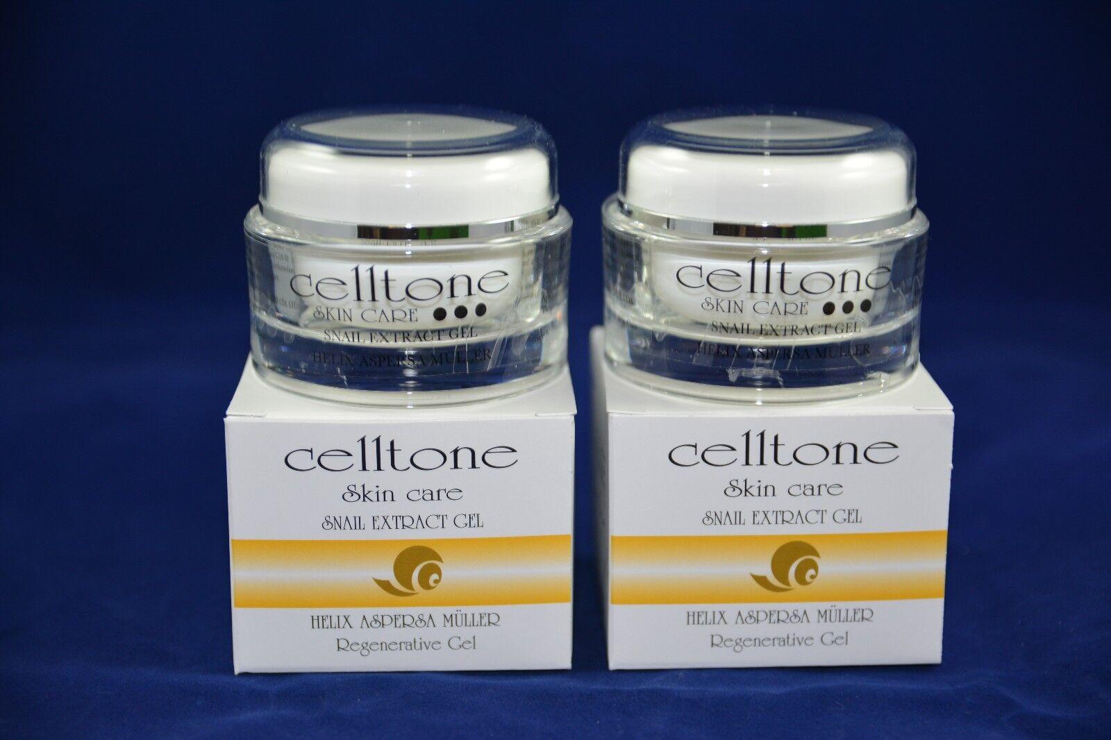 2 Jars Celltone Baba De Caracol, Gel Livariz Botulex Coll...