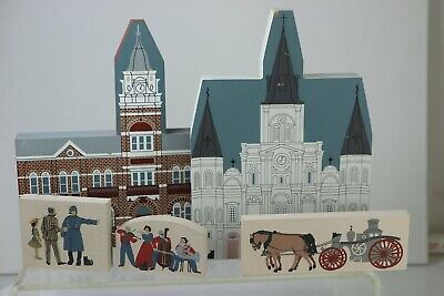 Courthouse Police Musicians Horse Fire Truck Cathedral Cats Meow Jaline 1990s