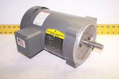 New Baldor 14 Hp Ac Electric Motor 230460 Vac 1725 Rpm 3 Ph 56c Frame Km3454