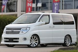 MY 2005 Nissan Elgrand Only 39662Km 5.1 Speakers GPS Sunroof Curtains Wetherill Park Fairfield Area Preview