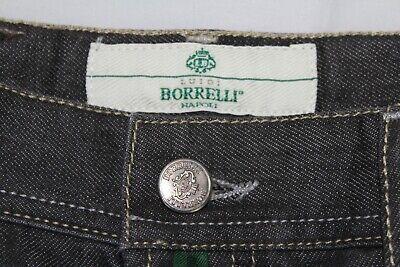 Mint LUIGI BORRELLI NAPOLI 35 X 31 Made in Italy Button Fly Denim Jeans