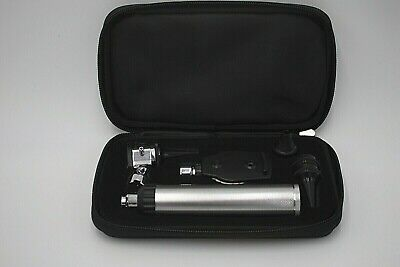 Ent Diagnostic Otoscope Ophthalmoscope Compact Portable Set