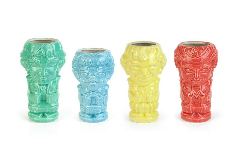 Geeki Tikis The Golden Girls Ceramic Mugs | Set of 4