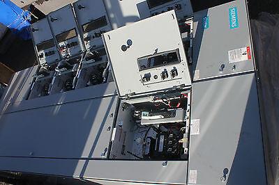 New Siemens Tiastar Breaker Motor Control Panel Loaded With Breakers Starters