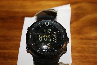 PALADA T7005G Men's LED Digital Watch - Black