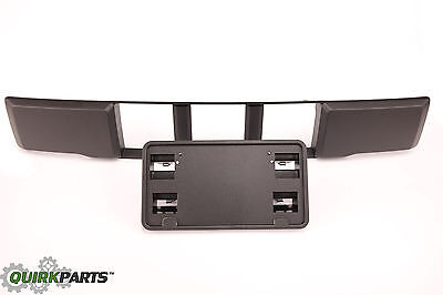 2015 2017 Ford F 150 Front Bumper Lower Grille Trim Panel  License Bracket OEM
