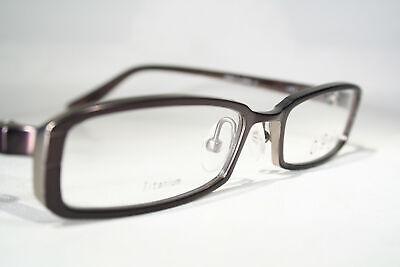 Titanium OGI 5601 Premium Japanese Slim Rectangular Eyeglasses Glasses (Japanese Eyeglasses Frames)