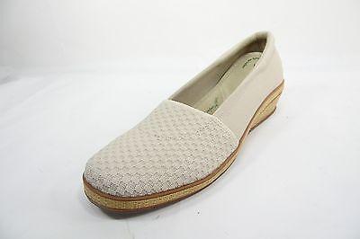 Grasshoppers Amelia Slip On Wedge Womens Shoe Beige Size 8M Amelia Slip