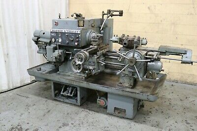 3 Warner Swasey Model 4630 Turret Lathe Yoder 72581