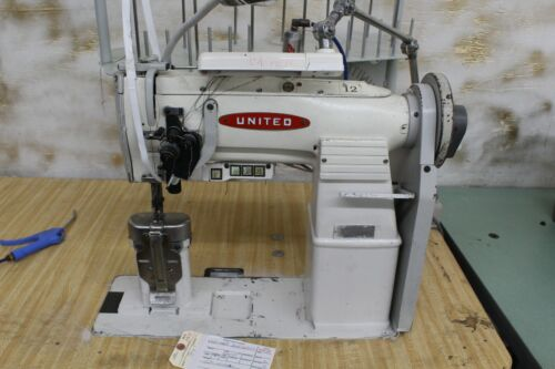 Double Needle Post Mechanical Machine, TAG #4932