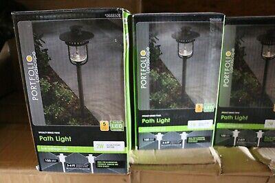 PORTFOLIO IYQ1501L LANDSCAPING LED PATH LIGHT BRONZE 12V Landscape 12v Led Path