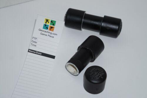 2 Pack PVC GEOCACHE - Micro Size