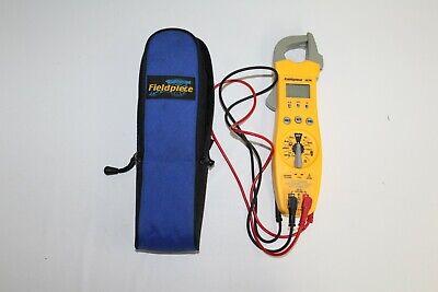 Fieldpiece Sc76 Temperature And Capacitance Clamp Meter