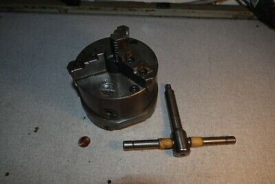 Pratt Burnerd 5 Lathe Chuck 3 Jaw Jaws 1212-21315