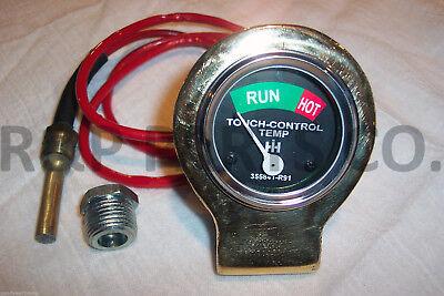 Touch Control Gauge Brass For Farmall Ih 100 130 140 200 Super A Av Sc 355841r91