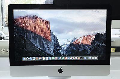 """Off lease 2011 Apple iMac 21.5"""" Desktop i7-2.8  8Gb Ram 1TB HDD A1311 OSX Sierra"""