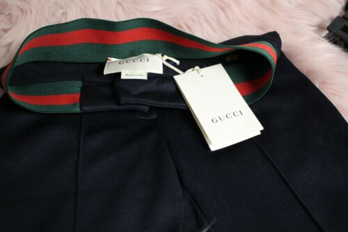 Brand New Authentic Gucci Kids Navy Blue Joggers
