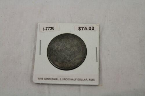 1918 Centennial Illinois Half Dollar