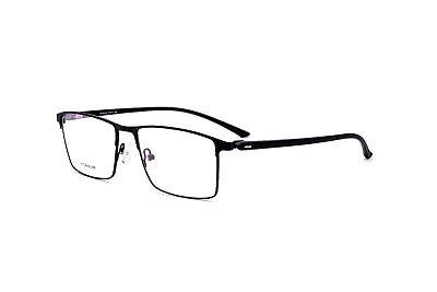 Mens Pure Titanium Full Rim Eyeglass Frames Rx Spectacles TR90 Glasses Wide (Mens Glasses Wide Face)