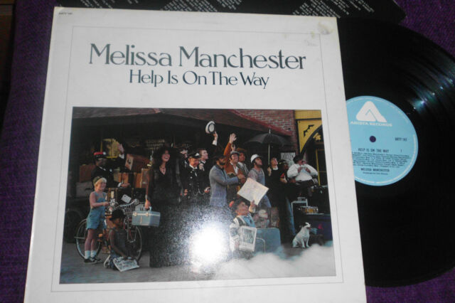 """MELISSA MANCHESTER """"Help is on the Way """"  1976 UK LP  ARISTA  ARTY 147"""