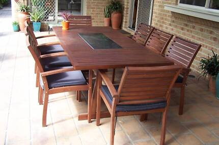 Timber outdoor furniture for sale