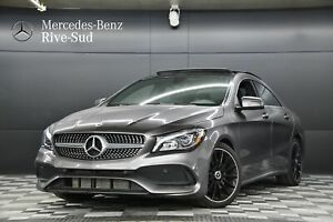 2018 Mercedes Benz CLA-Class 4MATIC COUPE, ENSEMBLE SPORT