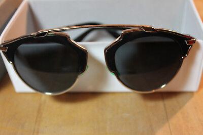 CD Christian Dior So Real Sunglasses Shades Sonnenbrillen B1A Y1 Etui, Sack,Box