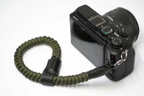 Wrist+Camera+Strap+%7C+Green+Rope+Strap+%7C+Mirrorless+Camera+Strap+%7C+NEVETdesigns+