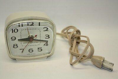 General Electric Alarm Clock  # 7290 Electric Working Clock Ashland, Mass. USA