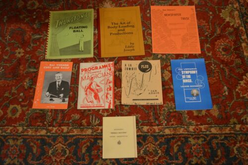 MAGIC BOOKS:  HUGE LOT OF ROUTINES INCLUDING THAYER & DAI VERNON