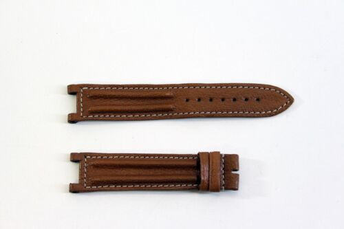 Cartier Pasha Leder Uhrarmband braun 20-16 mm (C222) *