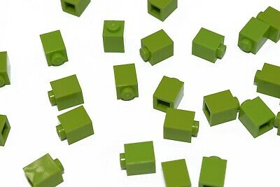 25 New LEGO 1x1 Lime Green Bricks bulk 3005 bright yellow green city lot bulk