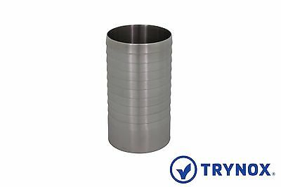 0.75 Sanitary Sms Welding Hose Adapter 316l Stainless Steel Trynox